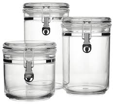 clear canisters canisters canister sets kitchen canisters glass