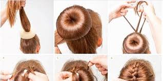 hair tutorials for medium hair 94 bun hairstyles for long hair step by step easy indian