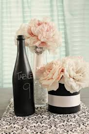 gold wine bottle table numbers 7 wine bottle centerpieces you can diy for your wedding day