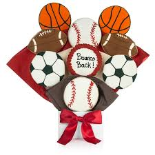 cookie bouquet sports balls cookie bouquet sports themed gift sports balls gift