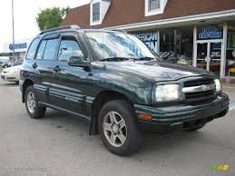 tracker jeep 2003 dark green metallic chevrolet tracker 4wd hard top 31743274