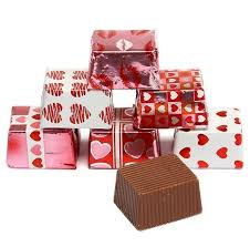 valentine presents milk chocolate foiled valentine presents fun factory sweet shoppe