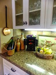 Kitchen Counter And Backsplash Ideas by Rosewood Harvest Gold Madison Door Kitchen Counter Decorating