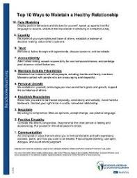 Healthy And Unhealthy Relationships Worksheets Printable Worksheets
