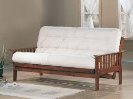 oak futon sofa bed dirty oak finish wood futon frame caravana furniture