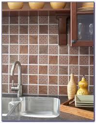 Stick On Tiles For Backsplash by Peel And Stick Mosaic Tile Backsplash Tiles Home Design Ideas
