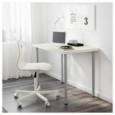 Ikea Stand Desk by Linnmon Adils Table White Ikea