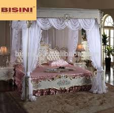 italian canopy bed italian royal bedroom furniture luxury upholstered canopy bed