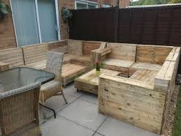 wood pallet garden furniture photograph wood pallet furniture