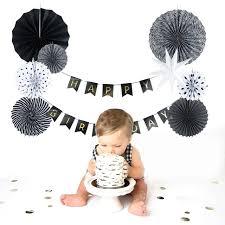 aliexpress buy black white paper decoration set paper fans