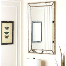 wall decor with mirrors black framed mirrors for bathroom white