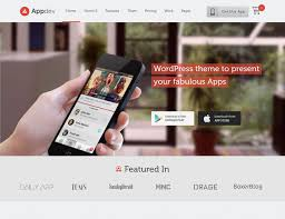 30 best app showcase wordpress themes 2017 athemes