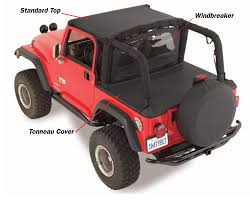 Jeep Liberty Tonneau Cover Smittybilt Tonneau Cover For 97 06 Jeep皰 Wrangler Tj With Factory