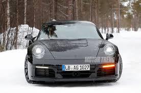 generation porsche 911 spied porsche 911 begins to take shape motor trend