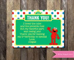 elmo online invitations sesame street thank you elmo thank you thank you with