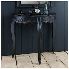 Half Moon Accent Table Console Tables Moon Table Half With Drawers Entry U2013 Launchwith Me