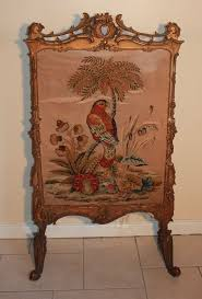 Hand Painted Fireplace Screens - 65 best antique fire screens images on pinterest fireplace