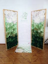 photo backdrop paper paper flowers backdrop wedding ceremony decorations paper