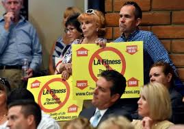 seal planning commission rejects controversial la fitness