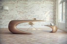 Futuristic Office Desk Futuristic Desk For A Sci Fi Inspired Office