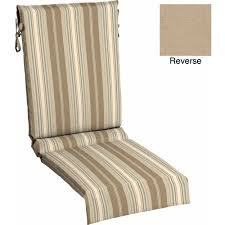 mainstays outdoor sling chair cushion tan stripe walmart com