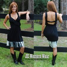 santiki u201croz u201d black dress texas western wear cowboy boots