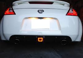 nissan sentra tail light cover amazon com ijdmtoy smoked lens rear fog light led assembly for