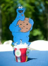 cookie monster centerpieces ideas google search party ideas