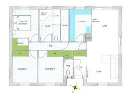 plan de maison plain pied 3 chambres gratuit plan maison plain pied 3 chambres gratuit 90m2 0 mod le 90 m t4