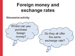 post office bureau de change exchange rates module 9 foreign ppt