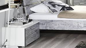 B O Schreibtisch Grau Sumatra Extra Alpinweiß Vintage Grau