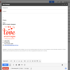 how to add your logo into your email signature