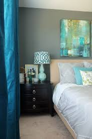 Dark Teal Curtain Panels How To Make A Bedroom You Never Want To Leave Of Decorating