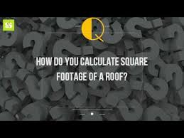 Estimating Roof Square Footage by How Do You Calculate Square Footage Of A Roof