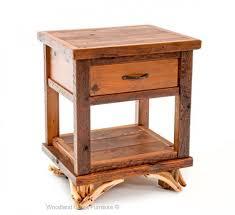 Log Side Table Log End Tables Nightstands Rustic End Table Log Side Table