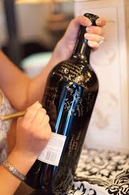 guest book wine bottle guestbook wine bottle guest book 2556615 weddbook