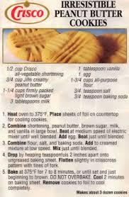recipecurio comcrisco irresistible peanut butter cookies recipe