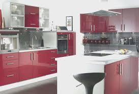 kitchen fresh red painted kitchen cabinets home design furniture