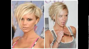 would an inverted bob haircut work for with thin hair very short inverted bob haircuts youtube