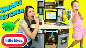 Little Tikes Wooden Kitchen by Little Tikes Cook N Learn Smart Kitchen Ipad App Slicing Food