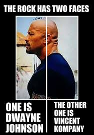 Funny Rock Memes - the rock has two faces weknowmemes