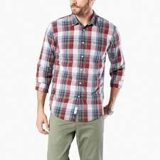 mens casual casual button shirts for s casual shirts dockers