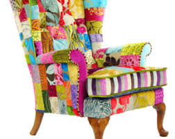 Patchwork Armchair For Sale Funky Furniture Etsy