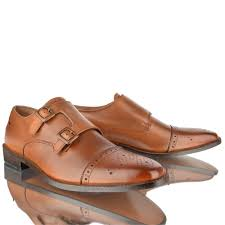 Men S Office Colors by Mens Leather Casual Formal Office Work Monk Strap Double Buckle