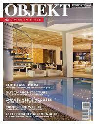 Home Design Magazines South Africa Objekt South Africa Issue 3 Winter 2013 Mediaslut