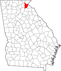 Tennessee Map With Counties by Habersham County Georgia Wikipedia