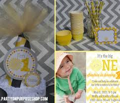 You Are My Sunshine Decorations Sunshine Party Ideas Party On Purpose