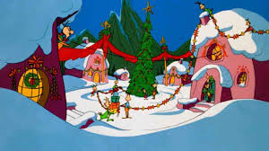 Youtubephotos by Grinch Whoville Halloween Backdrop