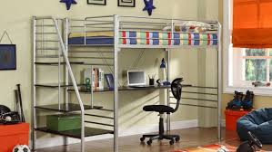 Desk With Bed Fabulous How To Build Loft Bed With Desk Underneath Tags Bed