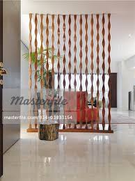 Unique Room Divider Unique Wooden Room Divider With Chair Stock Photo